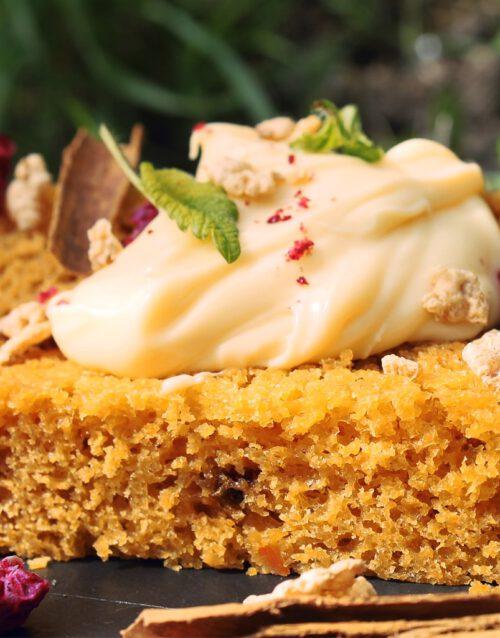 Bizcocho de zanahoria - Caseríssima pastelería sin gluten