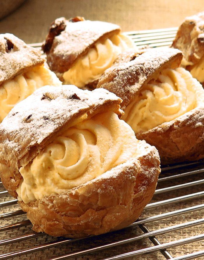 Cafeteros de crema pastelera - Caseríssima pastelería sin gluten