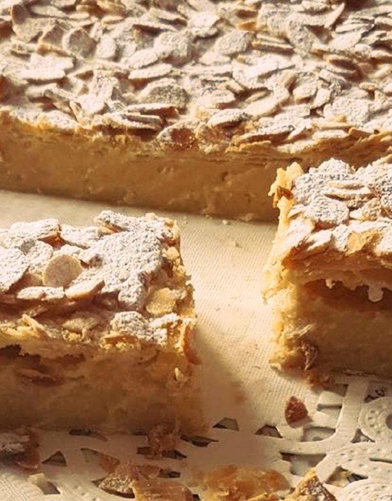 Pastel de crema frangélico - Caseríssima pastelería sin gluten